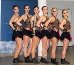 Es tanzten: Denise Fix, Priscilla Fix, Katharina Haag, Marisa Hofmeister, Miriam Hofmeister und Pia Kleinknecht