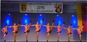 Es tanzten: Isabell Bechtold, Marie Bucher, Kim Häussermann, Learta Jakupi, Sophie Marinitsch, Lara Schwarz, Maja Schwarz und Jill Seidle