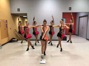 Erfolgreiche TV-Tänzerinnen in Speyer