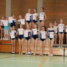Siegerehrung Vereinsmeisterschaft 2019 Turnverein SGV Freiberg