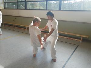 Kung Fu-Trainingswochenende 2017